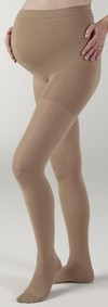 Medi Comfort 15-20mmHg Closed Toe Maternity Panty w/Adjustable Waist Band