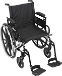Viper Plus GT Wheelchair with Flip Back Removable Adjustable Arm