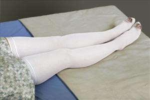 Thigh Length Anti-Embolism Stocking, Large, Regular
