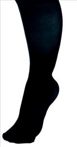 CURAD Knee Length Compression Hosiery 15-20mmHg (Black)