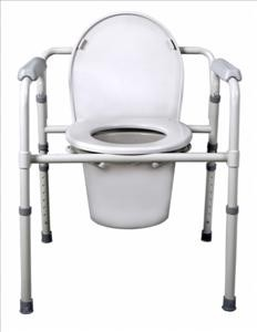 Deluxe Steel 3-in-1 Commode