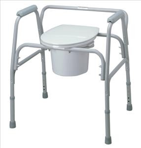 Bariatric Commode Extra Wide