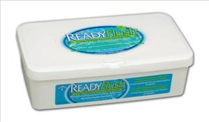 "ReadyFlush Dimethicone Wipes, 9""x13""  60/tub (case of 9 tubs)"