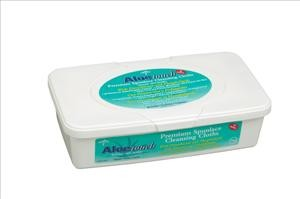 "Aloetouch Dimethicone Wipes, 9""x13""  60/tub (case of 12 tubs)"