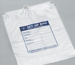 "Respiratory Patient Set-Up Bag, 12""x16"" (Case of 500)"