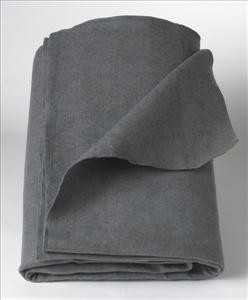 Disposable Blanket, Gray, 40x80 (Case of 10)