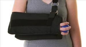 Shoulder Immobilizer with Abduction Pillow, Large