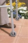Fixed Rubber Wheels for Walker (3in)