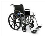 K1 Basic Wheelchair w/ Removable Desk Length Arms