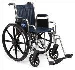 Excel 2000 Wheelchair w/ Elevating Legrests (18in)