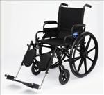 Excel K4 Wheelchair w/ Swing Back Arms and Detachable Elevating Legrests (22